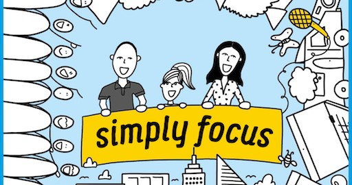 Simply Focus Podcast Artwork Kopie 512x512 Pixel